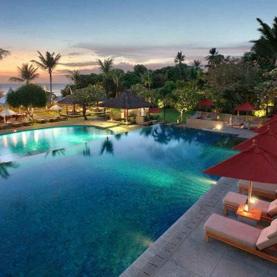 swimming pools at Bali Niksoma