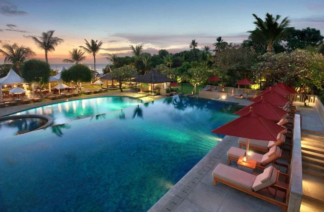Swimming Pool at Bali Niksoma Hotel - Legian Beachfront - Kuta Bali
