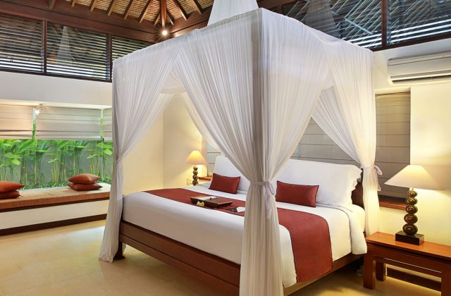 villa with with private pool Suite Room at Bali Niksoma Boutique Beach Resort