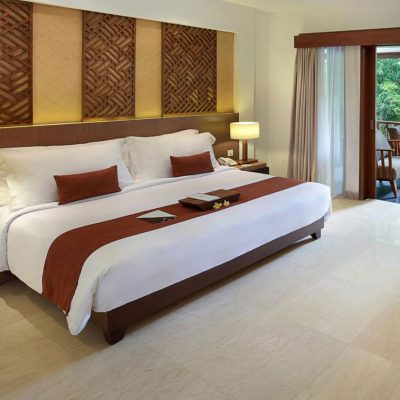 Superior room with modern amenities